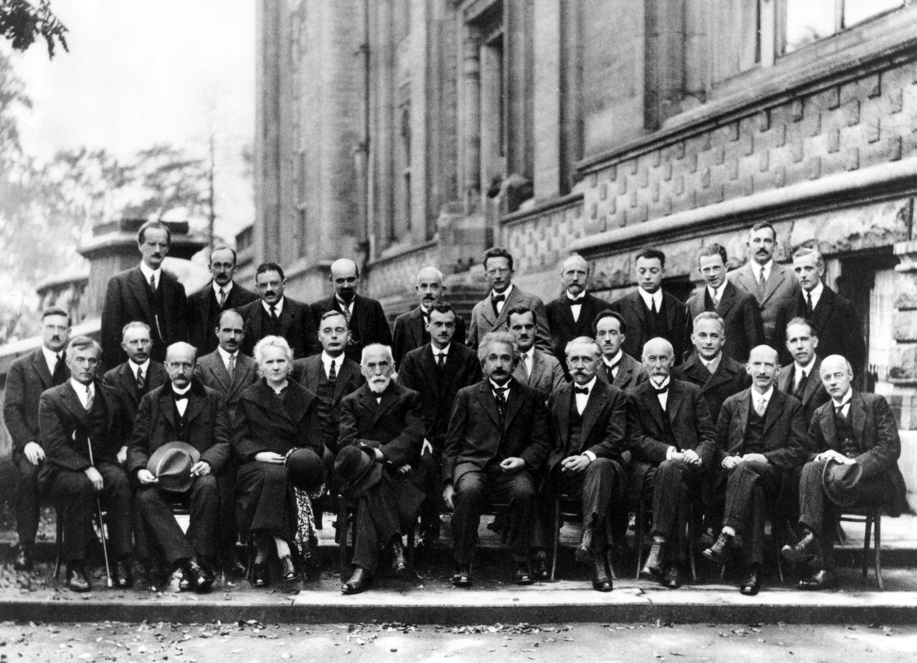Physicists-Solvay congress (1927)